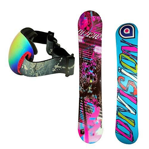 DIVISION メンズ スノーボード ピンク156