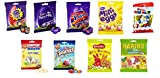 Easter Variety Pouch Bags 85g-215g (Pack of 9) Cadbury Nestle Smarties Kinder Milkybar Haribo Bassetts