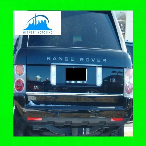 2003-2011 LAND ROVER RANGE ROVER PRECUT CHROME TRUNK TAILGATE TRIM MOLDING 2004 2005 2006 2007 2008 2009 2010 03 04 05 06 07 08 09 10 11 SUPERCHARGED SPORT (Range Rover Accessories 2004 compare prices)