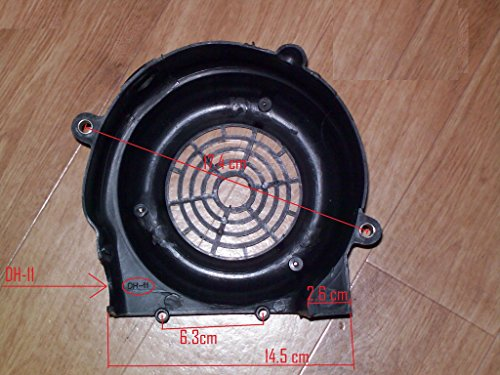Fan Cover Gy6 125cc 152qmi 157qmj Scooter Moped Parts #88456
