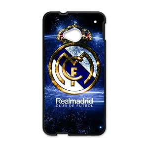 Amazon.com: HGKDL Real Madrid Logo Cell Phone Case for HTC One M7