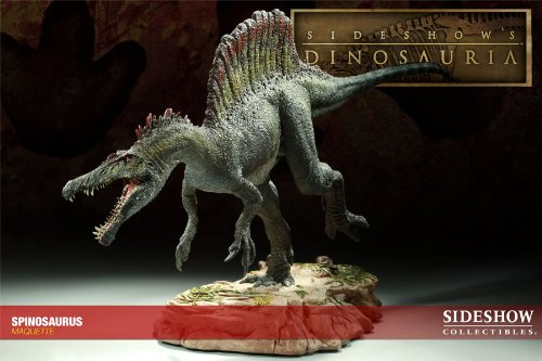 Buy Low Price Sideshow Spinosaur Maquette Figure (B00438ZDRU)