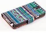 myLife Bohemian patterned {Textured Design} Faux Leather (Card, Cash and ID Holder + Magnetic Closing) Slim Wallet... by myLife Brand Products