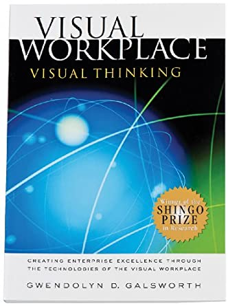 Brady 113241 Visual Workplace Visual Thinking Book