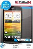 AtFoliX FX-Clear Protective Display Films for HTC Desire X Pack of 3 Top quality: Made in Germany.