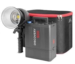 Jinbei DC II 600 Porty Blitz-Set / Flash Kit mt 600Ws Blitzleistung mit Leistungsregulierung über Funk
