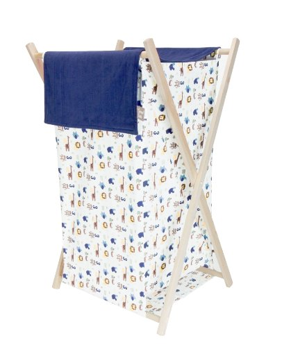 Trend Lab Collapsible Hamper Set, Jungle 123