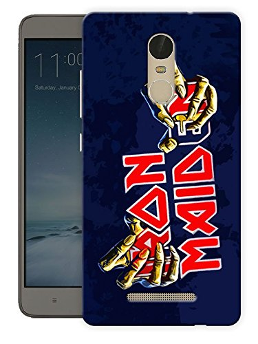 Iron Maiden Rock Printed Designer Mobile Back Cover For Xiaomi Redmi Note 3 By Ulta Anda (3D, Matte Finish, Premium Quality, Protective Snap On Slim Hard Phone Case, Multi Color)