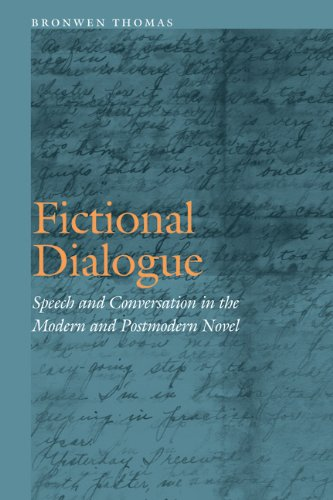 Fictional Dialogue: Speech and Conversation in the Modern and Postmodern Novel (Frontiers of Narrative)