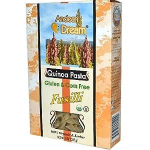 Amazon.com: Andean Dream Fusilli Quinoa Pasta Gluten Free (6x8 Oz