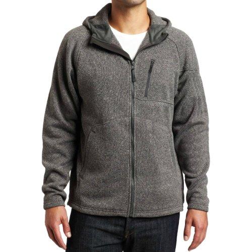 Merrell Men's Cedarbrook Hooded Fleece Jacket - Grey (Medium)