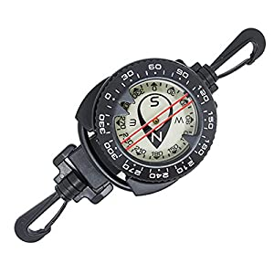 Scuba Choice Diving Dive Compass with Retractor