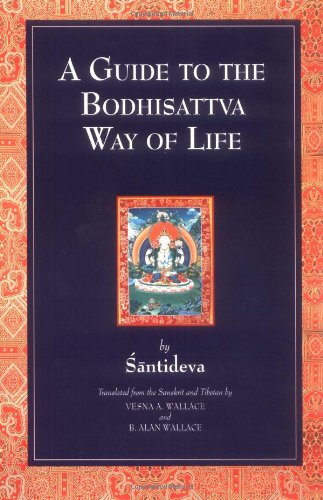 "Cover of ""A Guide to the Bodhisattva Way ..."