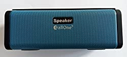 CallOne SUPER BASS PORTABLE BLUETOOTH SPEAKER, FASHIONABLE DESIGN WITH DUAL SPEAKERS, FM RADIO,TF CARD, USB, AUX INHEADPHONE JACK, BUILT-IN MICROPHONE FOR HANDS FREE CALLS