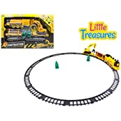 Train Construction Playset Is An Awesome Set That Combines Construction With The Railroad Build Your Own Tracks...
