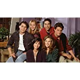 Posterhouzz TV Show Friends Rachel Green Jennifer Aniston Courteney Cox Monica Geller Lis...HD Wall Poster