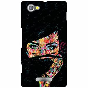 Printland Phone Cover For Sony Xperia M