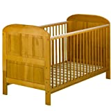East Coast Angelina Cot Bed - Antique Pine