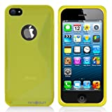 Minisuit S Shape Case Cover for iPhone 5/5S (Yellow)