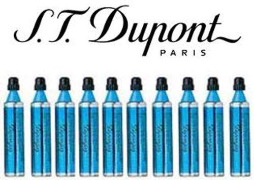S.T. Dupont Gas Refill - Blue, Ligne 8 Series, Ligne D & Urban Ten Pack