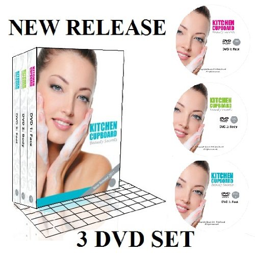 Kitchen Cupboard Beauty Secrets [ 3 DVD Set ]