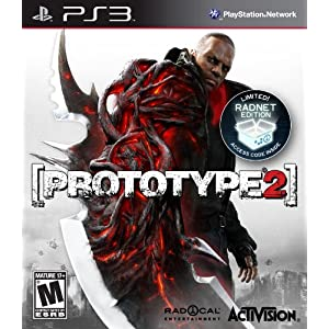 Prototype 2 PS3 Video Game