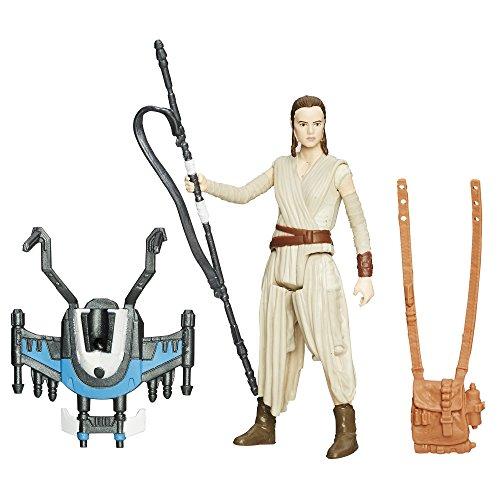 Star Wars The Force Awakens 3.75-Inch Figure Snow Mission Rey Jakku (Starkiller Base)