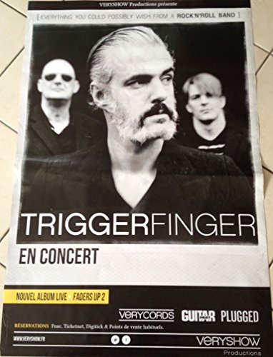 Triggerfinger in concerto, fader motorizzati Up 2-65 x Poster mostra/85 cm