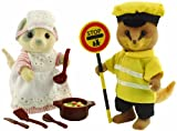 Sylvanian Families Dinner Lady and Lollipop Man