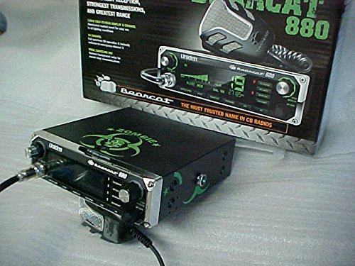 Zombie Amps CUSTOM Peaked Tuned Aligned Uniden 880 Cb Radio 7 color Display