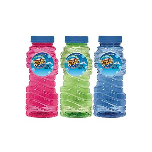 Amscan Fun Filled Summer Super Miracle Bubble Makers Party Activity, Multicolor, 8 oz (Summer Bubble Maker compare prices)