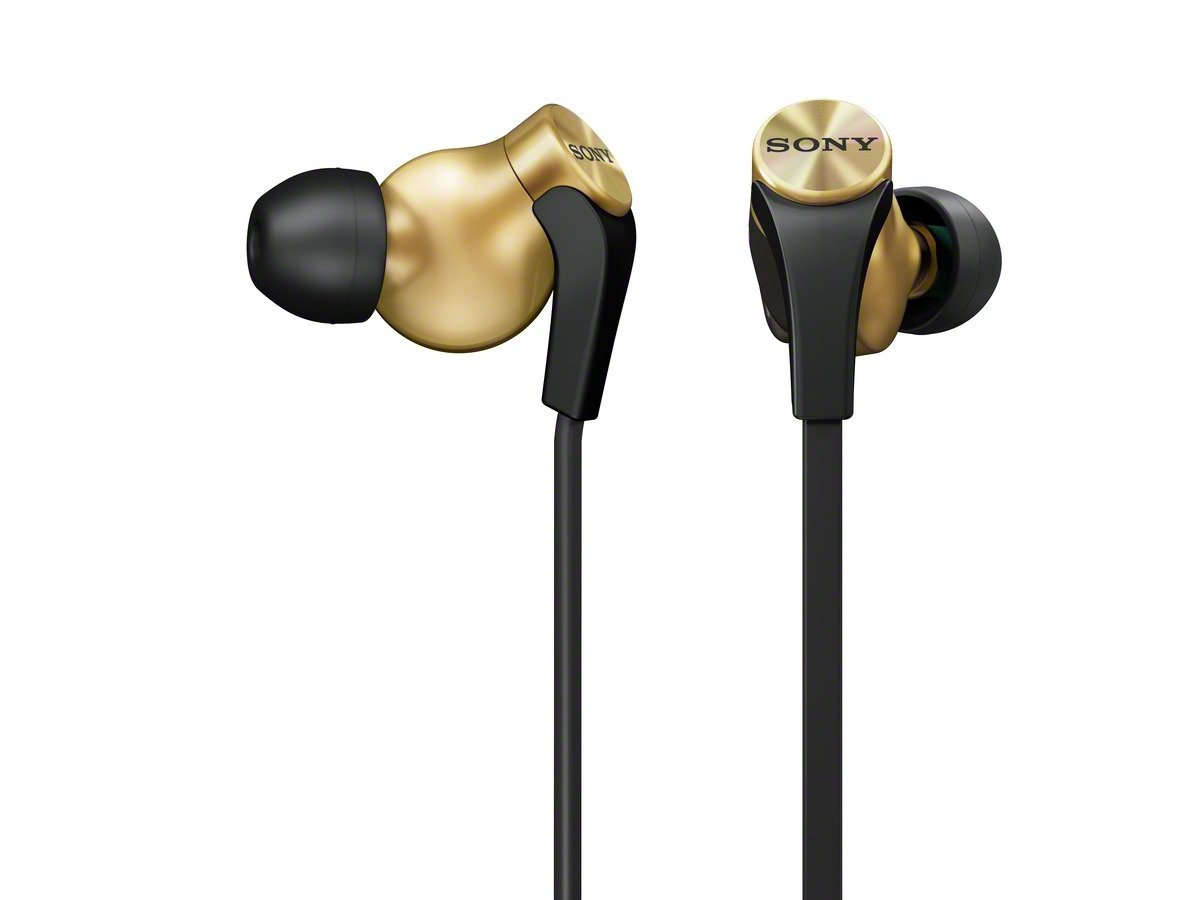 Sony MDRXB60EX/GLD Extra Bass In Ear 13.5mm Driver Headphone, Gold $30.67