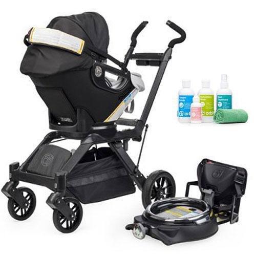 Orbit Baby Infant Stroller System G3 With Spa Kit - Black front-293663
