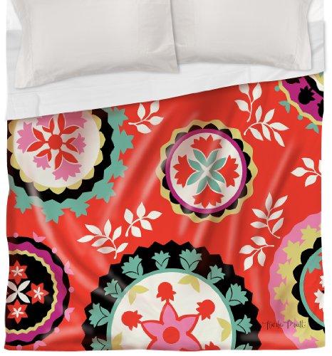 Thumbprintz Duvet Cover, Twin, Susani Bird Berries front-482632