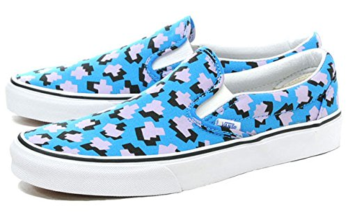 [バンズ] VANS CLASSIC SLIP-ON (ELEY KISHIMOTO) CUBIC MOLECULES/TRUE WHITE スリッポン vn03dvhsy 25.0cm
