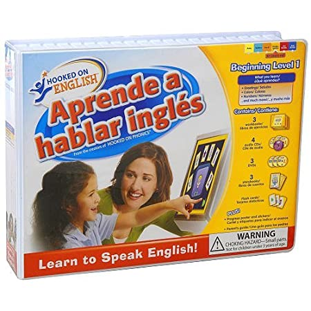 Hooked on English Beginning Level 1 English as a Second Language (ESL) for Ages 4-8