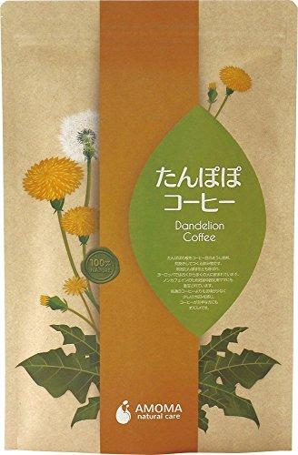AMOMA たんぽぽコーヒー 2.5g×30ティーバッグ ■オーガニック・無農薬・国内焙煎ノンカフェインコーヒー