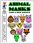 Animal Masks: Reproducible Paper Crafts