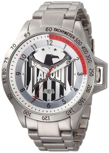 TapouT Men's MR-SL Quartz Silver Watch