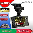 Car DVR Recorder with G-sensor /HDMI /TF Card Slot (K6000-2.7inch-1080P)