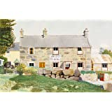 Swan Cottages, Ro-Wen, Conway Valley, by Kenneth Rowntree (Print On Demand)