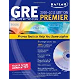 Kaplan GRE Exam 2010-2011 Premier with CD-ROM (Kaplan GRE Premier Program (W/CD)) ~ Kaplan