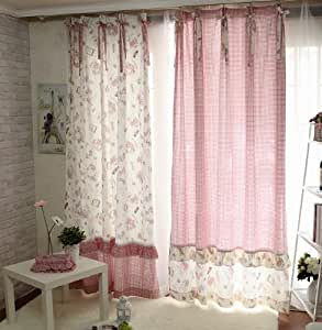 Fadfay home textile cute princess curtains for kids bedroom curtains girls kids - Amazon curtains living room ...