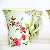 Devnow Porcelain Kerr Blooms Six Mugs
