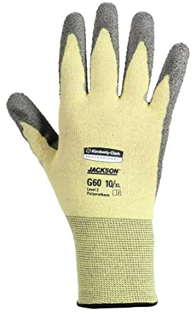 Jackson Safety G60 Polyurethane Coated Level 2 Glove, Cut Resistant, Medium (Case of 12 Pairs)