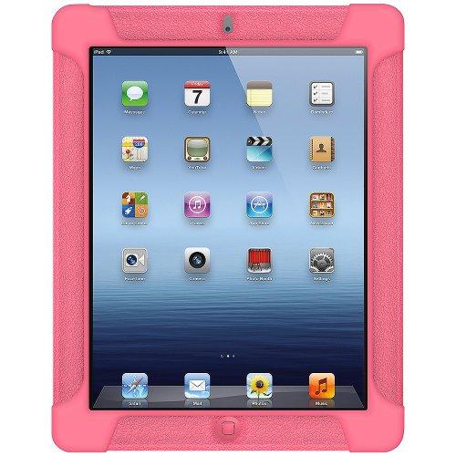 Imagen de Silicona Jelly Funda Skin Fit Amzer para Apple iPad 2 y iPad 3 - Rosa bebé.
