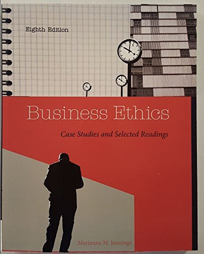 business ethics case studies and selected readings Buy business ethics: case studies and selected readings at walmartcom.