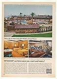 1963 Del Webb's Ocean House Resort Hotel San Diego Print Ad