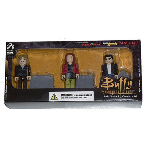 Buffy the Vampire Slayer PALz Cemetery Set