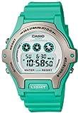 Casio カシオ LW-202H-3AVEF Ladies Illuminator White Dial Green Resin ストラップウォッチ レディス 女性用 腕時計[並行輸入品]